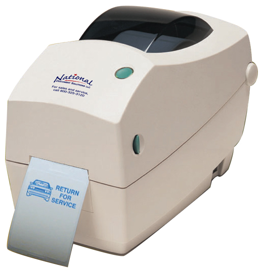 Oil Change Sticker Printer >> Propack Lube Sticker Printers